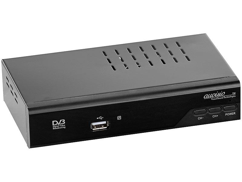 auvisio digitaler hd sat receiver dvb s s2. Black Bedroom Furniture Sets. Home Design Ideas
