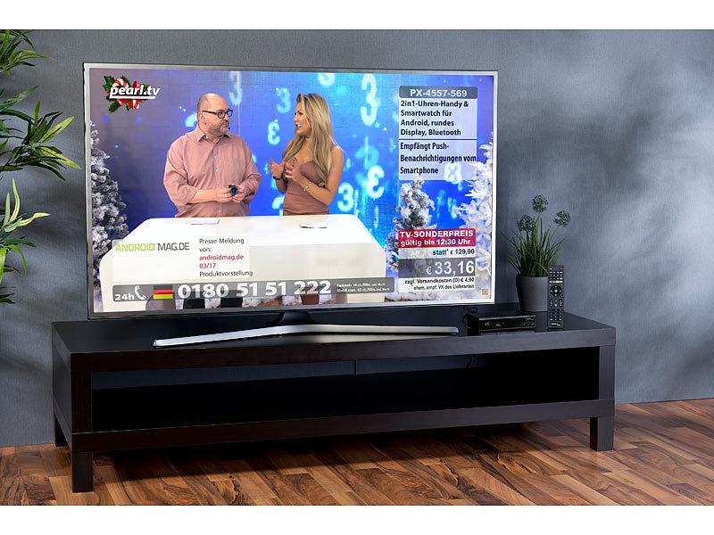 auvisio digitaler hd sat receiver dvb s s2 hdmi scart s pdif. Black Bedroom Furniture Sets. Home Design Ideas