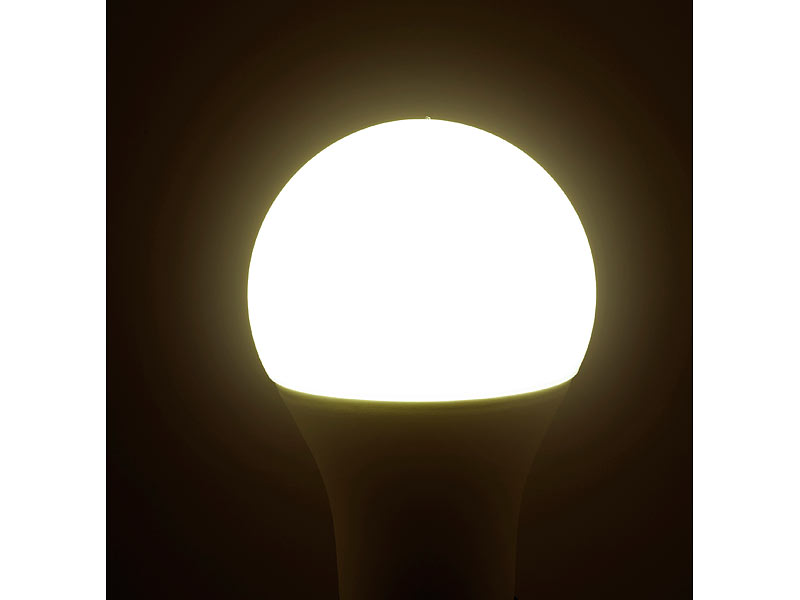 luminea home control smart bulb wlan led lampe komp zu amazon alexa google assistant e27. Black Bedroom Furniture Sets. Home Design Ideas