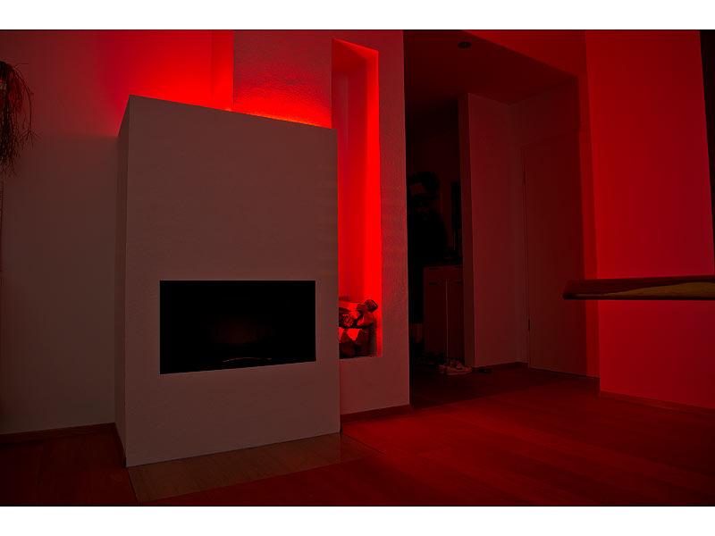luminea lichterband rgb led streifen lac 515 5 meter 150 leds dimmbar ip44 smarthome led. Black Bedroom Furniture Sets. Home Design Ideas