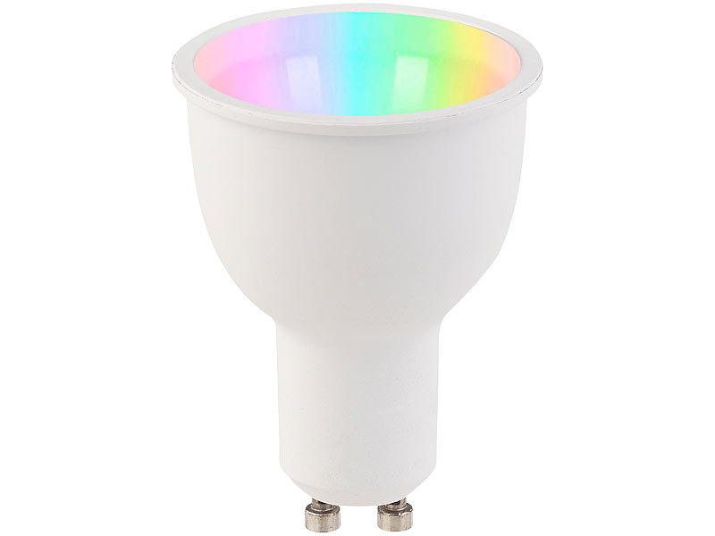 Luminea einbaustrahler er set wlan led lampen amazon alexa