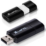 Xlyne 32 GB USB-Speicherstick USB 3.0 Wave Black USB-Stick Xlyne USB-3.0-Speichersticks