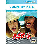 Sunfly Karaoke-DVD Country Hits Karaoke (Blu-ray, DVD)