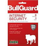Bullguard Internet Security Lizenzkarte, 3 Lizenzen (PCs/Macs/Android) Bullguard Internet & PC-Security (PC-Softwares)