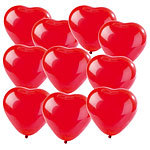 Playtastic 10er-Pack Luftballons in Herzform Playtastic Luftballons