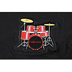 infactory T-Shirt mit Drum-Kit Größe M infactory LED-T-Shirts