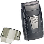 Sichler Men's Care Vibrationsfreier Folien-Akku-Reiserasierer, IPX5, USB-Ladebuchse Sichler Men's Care