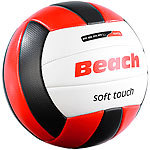 Speeron Beachvolleyball, griffige Soft-Touch-Oberfläche, Kunstleder, 20,5 cm Ø Speeron Beach-Volleybälle