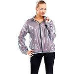 PEARL sports Extraleichter Unisex-Sport-Windbreaker in Grau, Gr. L PEARL sports