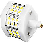 Luminea LED-SMD-Lampe mit 18 High-Power-LEDs, R7S, 78mm, warmweiß Luminea LED-SMD-Lampen R7S (warmweiß)
