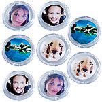 Your Design 8er-Set Bilder-Magnete Your Design Foto-Magnet-Pins