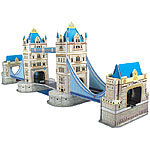 "Playtastic Faszinierendes 3D-Puzzle ""Tower Bridge"" in London, 41 Puzzle-Teile Playtastic 3D-Puzzles"