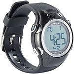 PEARL sports Fitness-Uhr, 3 Intensitätsstufen, LCD-Display, Stoppuhr-Funktion, IPX4 PEARL sports Fitness Pulsuhren
