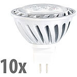Luminea LED-Spot mit Metallgehäuse, GU5.3 , 4W,warmweiß,230lm,10er-Set Luminea LED-Spots GU5.3 (warmweiß)