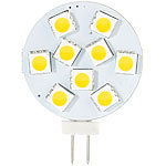 Luminea High-Power G4-LED-Stiftsockel mit SMD5050-LEDs, Bi-Pin, 1,8 W, weiß Luminea LED-Stifte G4 (neutralweiß)