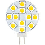 Luminea High-Power G4-LED-Stiftsockel mit SMD5050-LEDs, Bi-Pin, 2,4 W, 4000 K Luminea LED-Stifte G4 (neutralweiß)