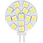 Luminea High-Power G4-LED-Stiftsockel mit SMD5050-LEDs, Bi-Pin, 3 W, weiß Luminea LED-Stifte G4 (neutralweiß)