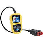 Lescars Universelles OBD2-Diagnosegerät, 5,1-cm-Farb-Display, bis zu 300 Codes Lescars OBD2-Diagnosegeräte