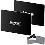 Semptec Urban Survival Technology 2er-Set RFID- & NFC-Blocker-Karten im Scheckkarten-Format Semptec Urban Survival Technology RFID-Blocker-Karten