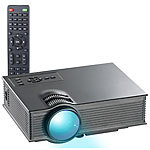 SceneLights LCD-LED-Beamer LB-8300.wl, SVGA, Miracast, DLNA & AirPlay, 800 x 480 SceneLights WLAN-LED-Beamer mit Miracast und DLNA