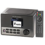 VR-Radio WLAN-Internetradio mit Wecker, USB-Ladestation, 8 Watt, 7,2 cm TFT VR-Radio