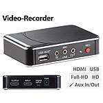 "auvisio HDMI-Video-Rekorder ""Game Capture V2"", Full HD, H.264-Videokompression auvisio HDMI- & Game-Recorder für Full-HD-Aufnahmenn"