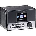 VR-Radio WLAN-Stereo-Internetradio, DAB+, Wecker, USB, 20 W, 8,1-cm-Display VR-Radio WLAN-Internetradios