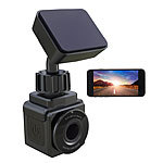 NavGear WiFi-Mini-Dashcam mit Full HD (1080p), G-Sensor, 155°-Weitwinkel, App NavGear WLAN-Dashcams mit G-Sensoren (Full HD)