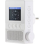 VR-Radio Steckdosen-Internetradio IRS-300 mit WLAN, 6,1-cm-Display, 6 Watt VR-Radio Steckdosen-Internetradios mit WLAN & App