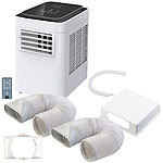 Sichler Exclusive In- und Outdoor-Klimaanlage mit Frischluft-Schlauch-Set, 2.600 W Sichler Exclusive