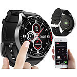 St. Leonhard Smartwatch mit Always-On-Display, Bluetooth, App, Herzfrequenz, IP68 St. Leonhard