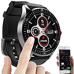 St. Leonhard Smartwatch mit Always-On-Display, Bluetooth, App, Herzfrequenz, IP68 St. Leonhard Smartwatches mit Herzfrequenz-Anzeige, Always-On-Display, Bluetooth