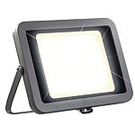 Luminea Wetterfester LED-Fluter, 200 W, 14.000 lm, IP65, 3.000 K, warmweiß Luminea Wetterfeste LED-Power-Fluter (warmweiß)