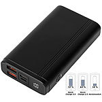 revolt Powerbank, Quick Charge 3.0 & USB Typ C PD, 10.000 mAh, bis 3 A, 18 W revolt Powerbanks mit Quick Charge 3.0 & USB Typ C