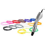 FreeSculpt 3D-Pen Drucker-Stift FX2-free mit Display, inkl. 15er-Set ABS-Filament FreeSculpt 3D-Stifte