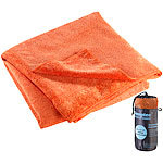 Semptec Urban Survival Technology Mikrofaser-Badetuch, 2 versch. Oberflächen, 180 x 90 cm orange Semptec Urban Survival Technology