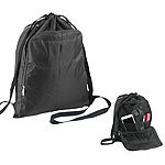 Semptec Urban Survival Technology 2in1-Turnbeutel-Rucksack mit aufklappbarem Organizer-Fach, 20 l Semptec Urban Survival Technology