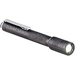 KryoLights Pen-Light-LED-Taschenlampe, 150 Lumen, 3 Watt, fokussierbar, Alu, IP54 KryoLights
