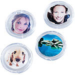 Your Design 4er-Set Bilder-Magnete Your Design Foto-Magnet-Pins