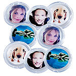 Your Design 8er-Set Bilder-Magnete für metallische Oberflächen Your Design Foto-Magnet-Pins