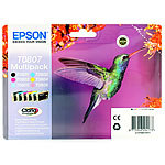 Epson Original 6 color Multipack, T080140/240/340/440/540/640 Epson Original-Epson-Druckerpatronen