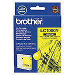 Brother Original Tintenpatrone LC1000Y, yellow Brother Original-Tintenpatronen für Brother-Tintenstrahldrucker