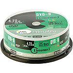 Intenso Marken DVD-R 4.7GB 16x printable, 50er-Spindel Intenso DVD-Rohlinge
