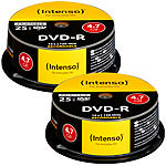 Intenso DVD-R 4.7GB 16x printable, 50er-Spindel Intenso DVD-Rohlinge