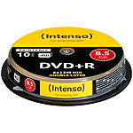 Intenso DVD+R 8,5GB 8x Double Layer, 10er-Spindel Intenso DVD-Rohlinge