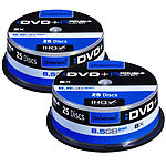 Intenso DVD+R 8,5GB 8x Double Layer, 2x 25er-Spindel Intenso DVD-Rohlinge
