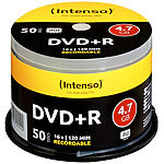 Intenso DVD+R 4.7GB 16x, 50er-Spindel Intenso DVD-Rohlinge