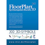 IMSI Floorplan Symbolepaket-Bundle 3D IMSI CAD-Softwares (PC-Softwares)