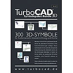 IMSI TurboCAD Symbolepaket-Bundle 3D IMSI CAD-Softwares (PC-Softwares)