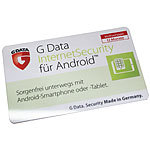 G DATA Internet Security für Android 1-Jahres-Lizenz (ProductKeyCard) G DATA